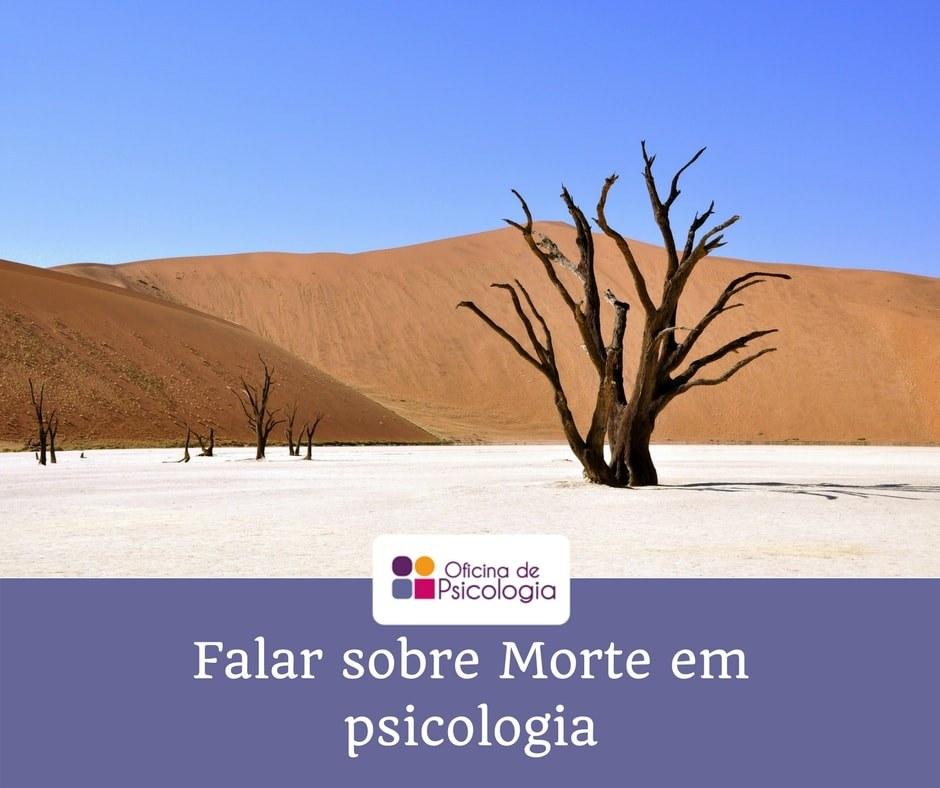 Falar sobre morte em Psicologia