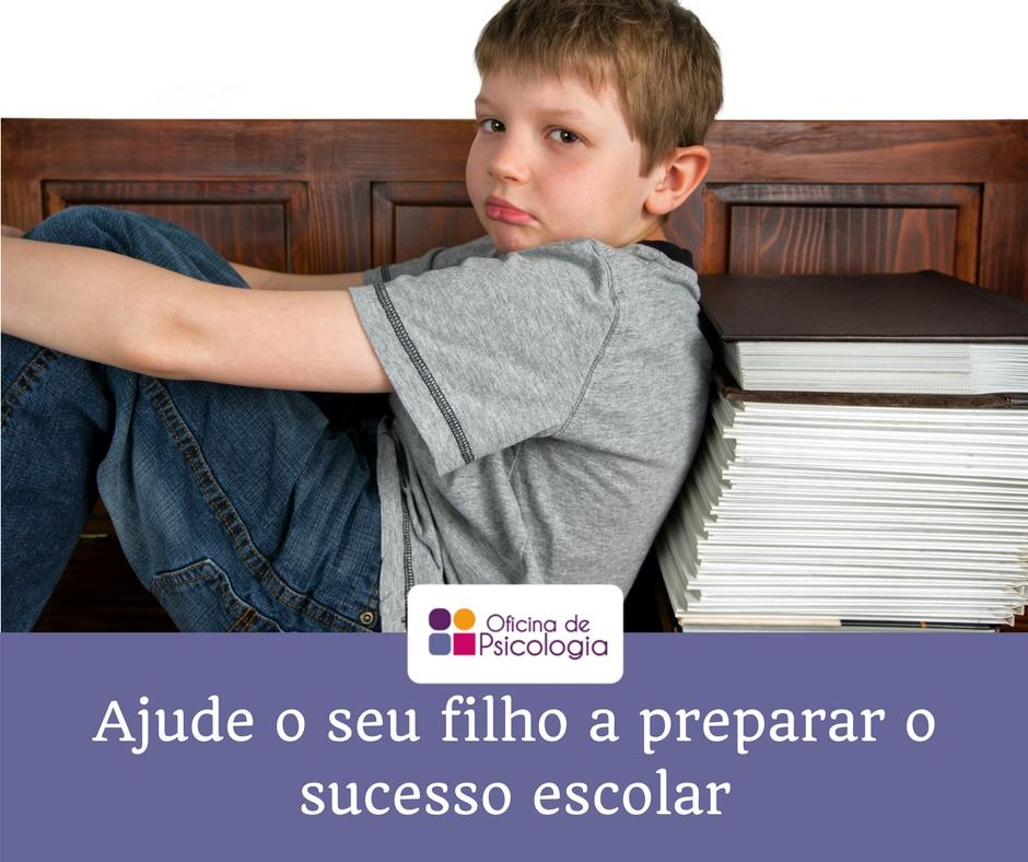 Ajude o seu filho a preparar o sucesso escolar