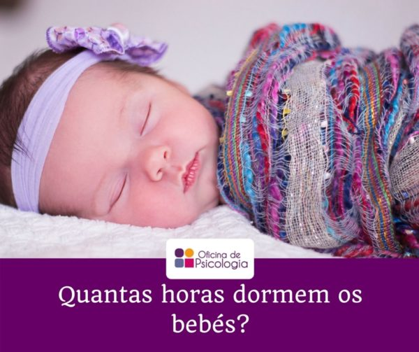 Quantas horas dormem os bebés
