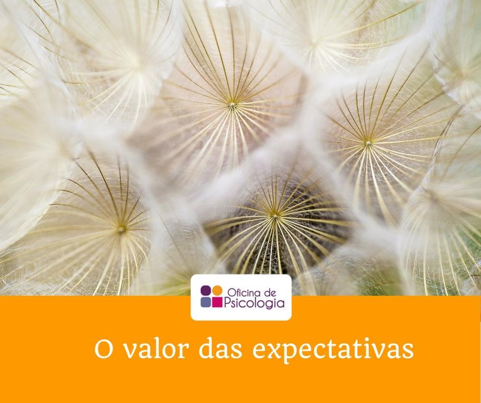 O valor das expectativas
