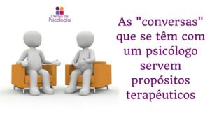 Conversas terapêuticas