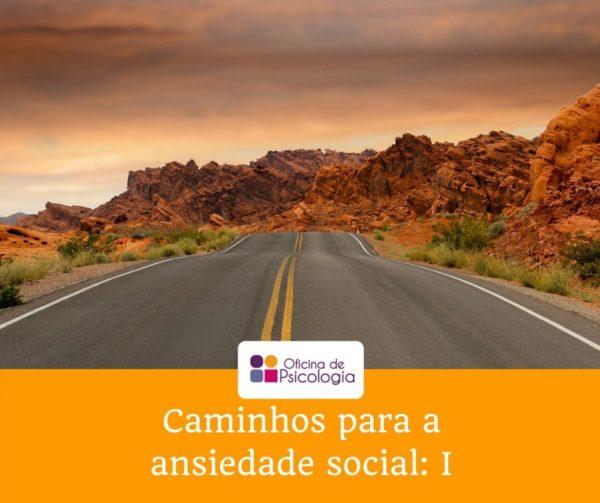 Caminhos para a ansiedade social I