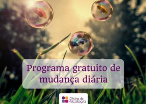 Programa de mudança diária