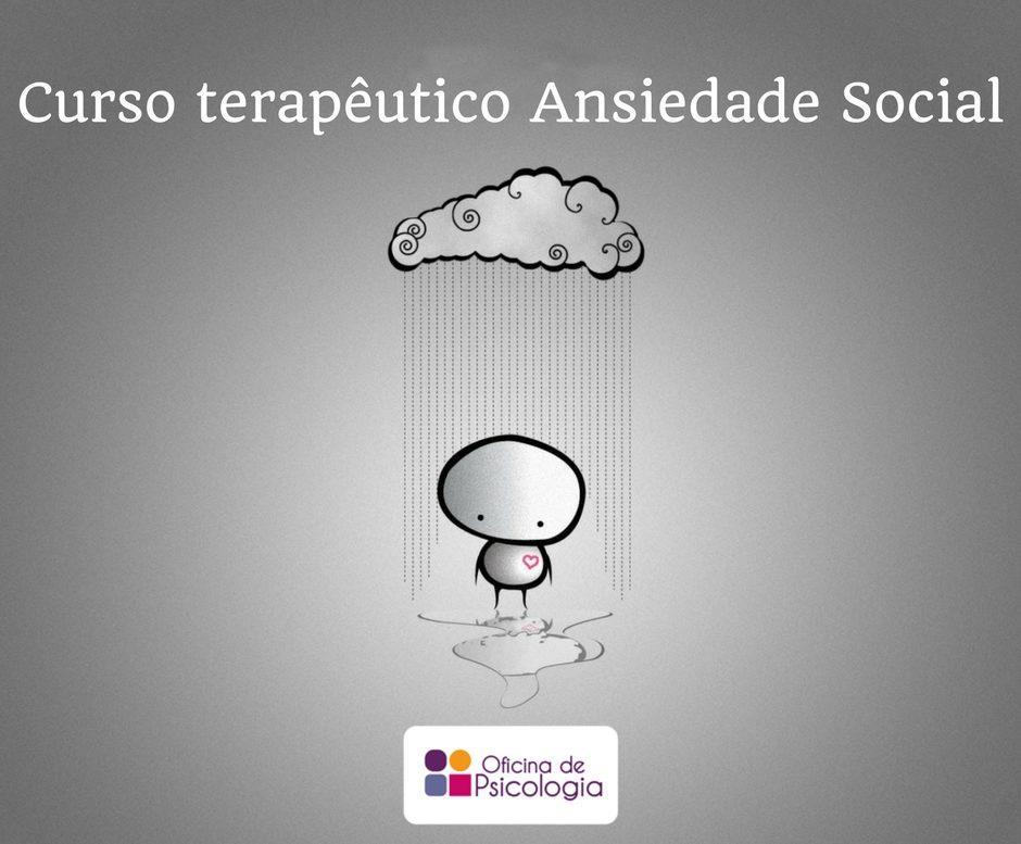 Artigo Curso Terapêutico Ansiedade Social
