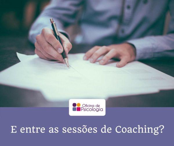 Entre as sessões de coaching