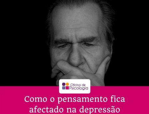 Como pensa quem está deprimido?