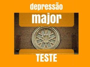 Depressão major teste