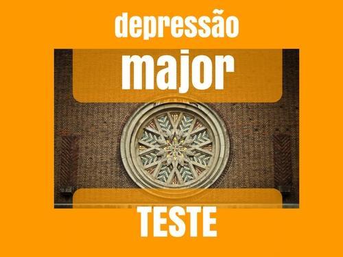 Depressão major