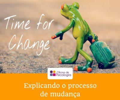 Explicando o processo de mudança