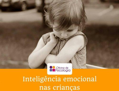Inteligência emocional nas crianças