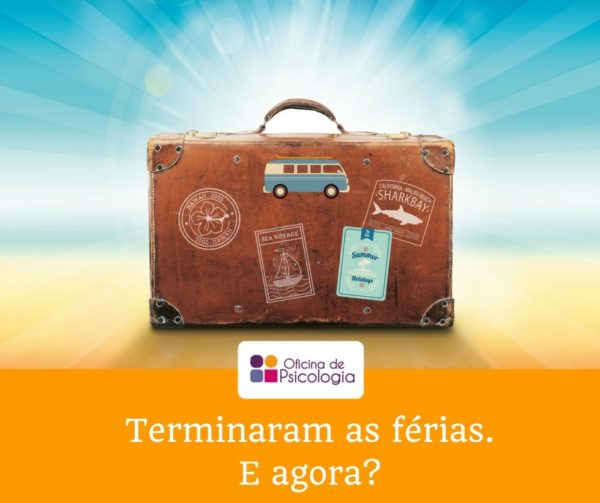 Terminaram as férias