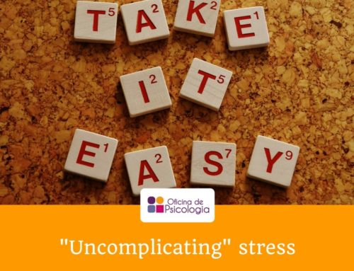 """Uncomplicating"" stress"