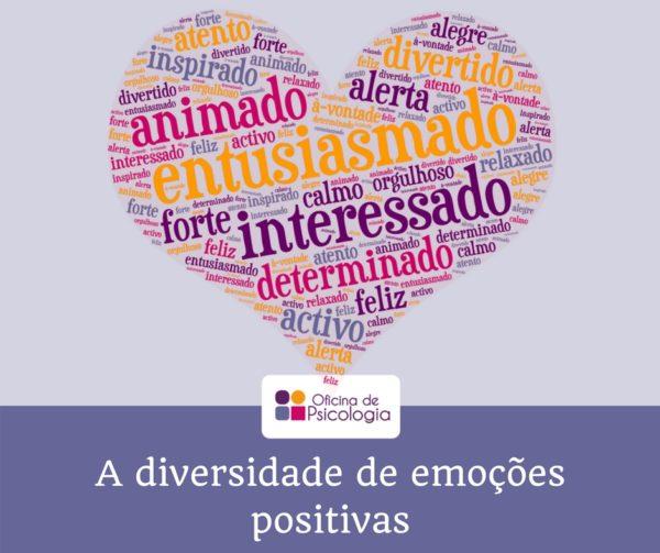 A diversidade de emoções positivas