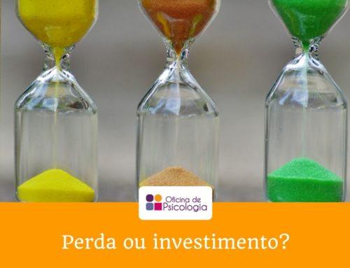 Perda ou investimento?