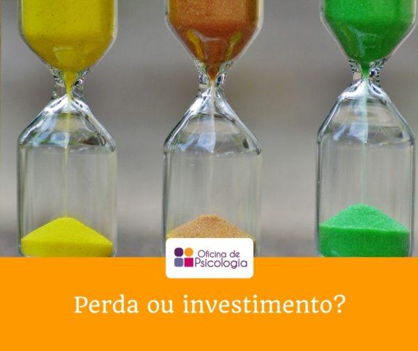 Perda ou investimento