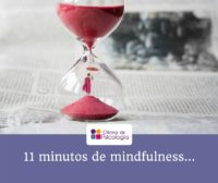 11 minutos de mindfulness