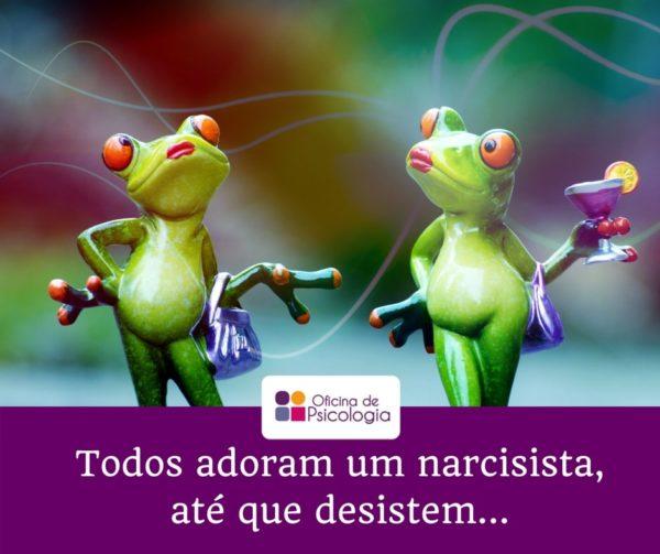 Todos adoram um narcisista até que desistem