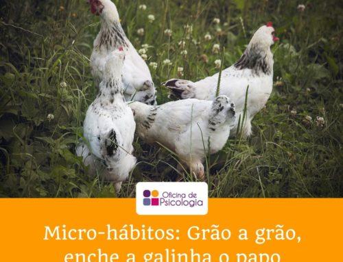 Micro-hábitos: grão a grão…