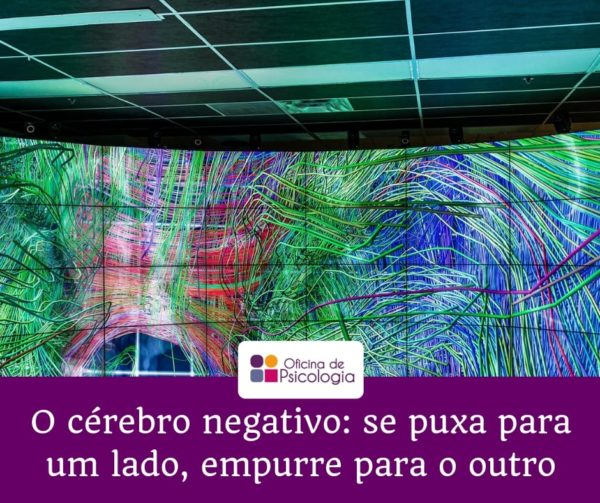 O cérebro negativo