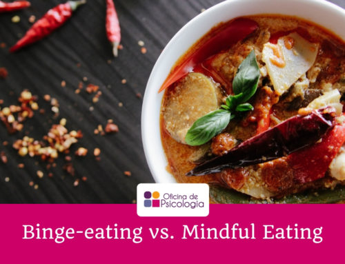 Binge eating vs. Mindful Eating