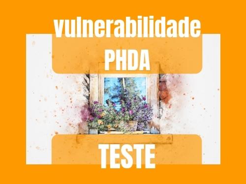 Vulnerabilidade à PHDA