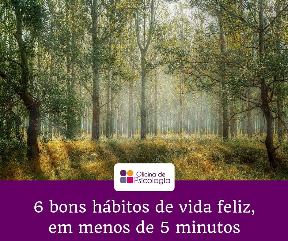 6 bons hábitos 5 minutos