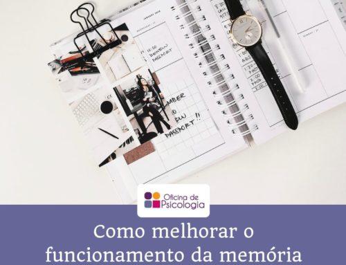 Como melhorar o funcionamento da memória