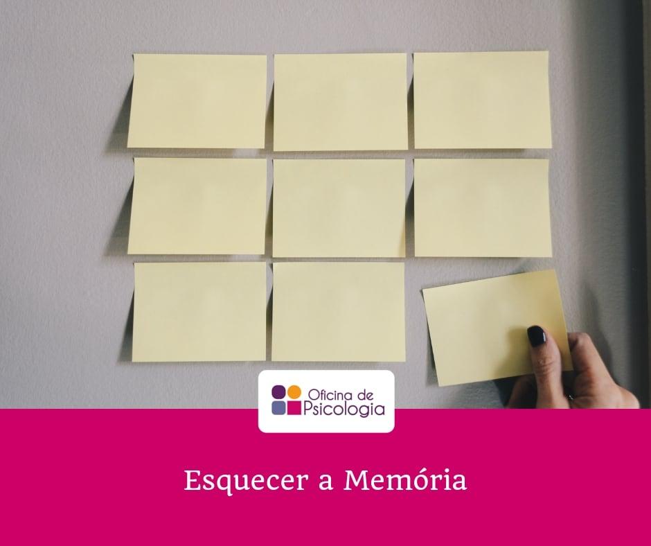 Esquecer a Memória