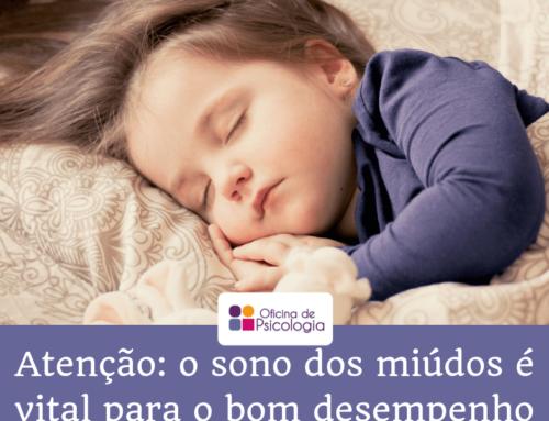 Atenção: o sono dos miúdos é vital para o bom desempenho!