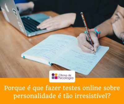 Porque é que fazer testes online sobre personalidade é tão irresistível?