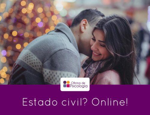 Estado civil? Online!