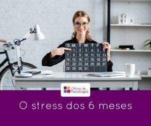 O stress dos 6 meses